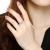 18 K金/プラチナダダイヤ結婚指輪ダンドリー70点FG色(60+10)