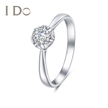 I Do Destinyシリーズ18 K金ダイヤモンドリング6本の爪に花を象眼した形をした指輪です。彼女にロマンチックで実用的な婚約指輪をプレゼントします。