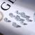 喜ドリルGIA裸ドリルカスタム証明書は18 Kプラチナダイヤモンドの指輪をカスタマイズすることができます。